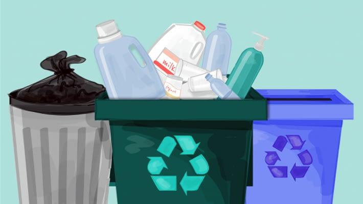 с рециклирането Пластмаса