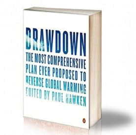 Book Cover: Drawdown - The Most Comprehensive Plan to Reverse Global Warming