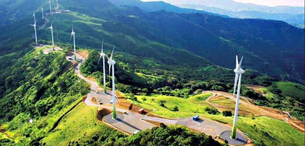 costa rica wind farm