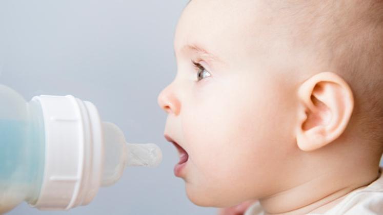 Микропластмаса поглъщана от бебетата